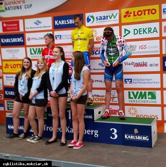 obr: David Zverko vyhral etapu v Nation cupe...