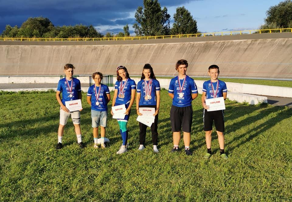 NA M-SR na dráhe sme vybojovali 8 medailí