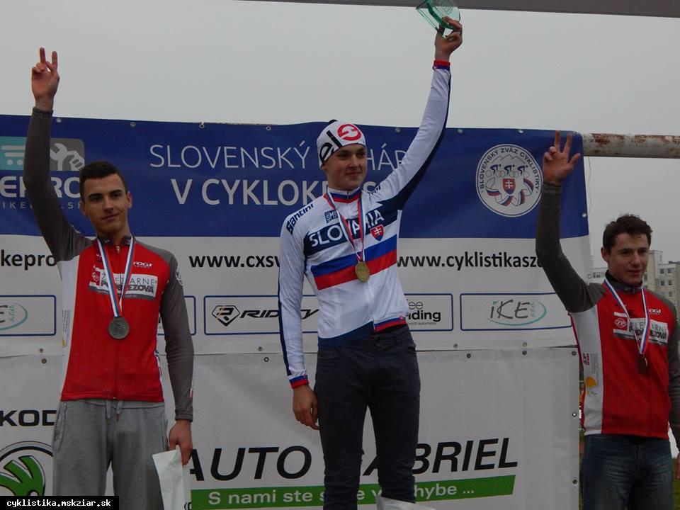 obr: Junior Ján Gajdošík získal titul majstra Slovenska