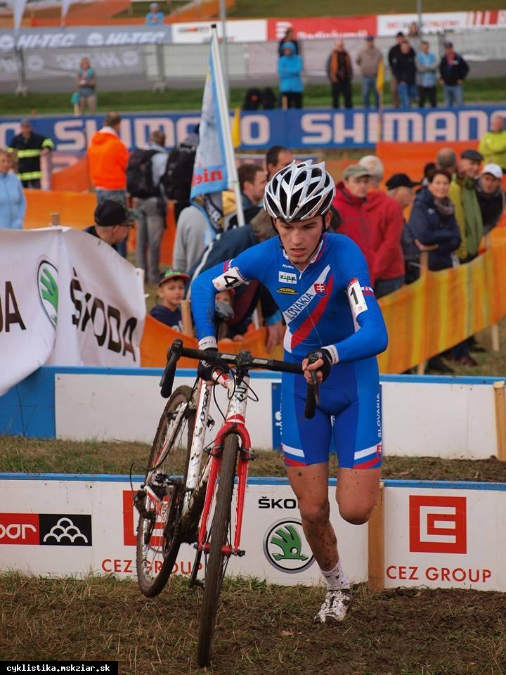 obr: Juraj Bellan štartuje na Majstrovstvách sveta v cyklokrose!!!