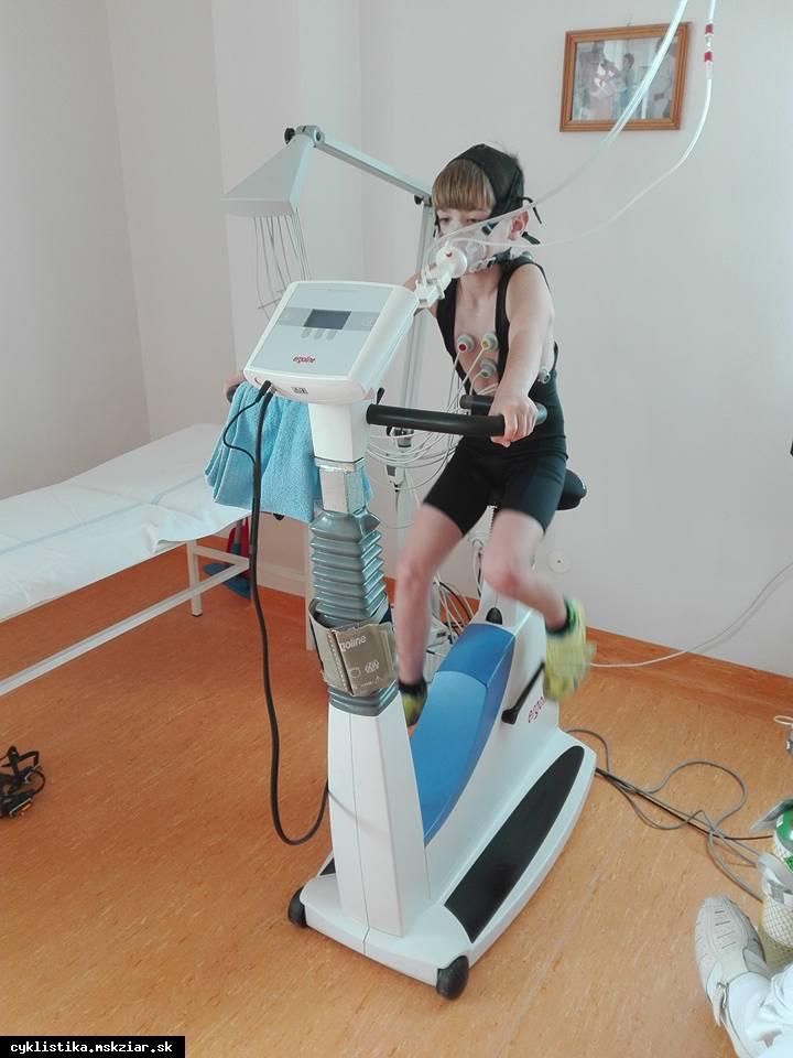 obr: Testovanie v centre športovej medicíny