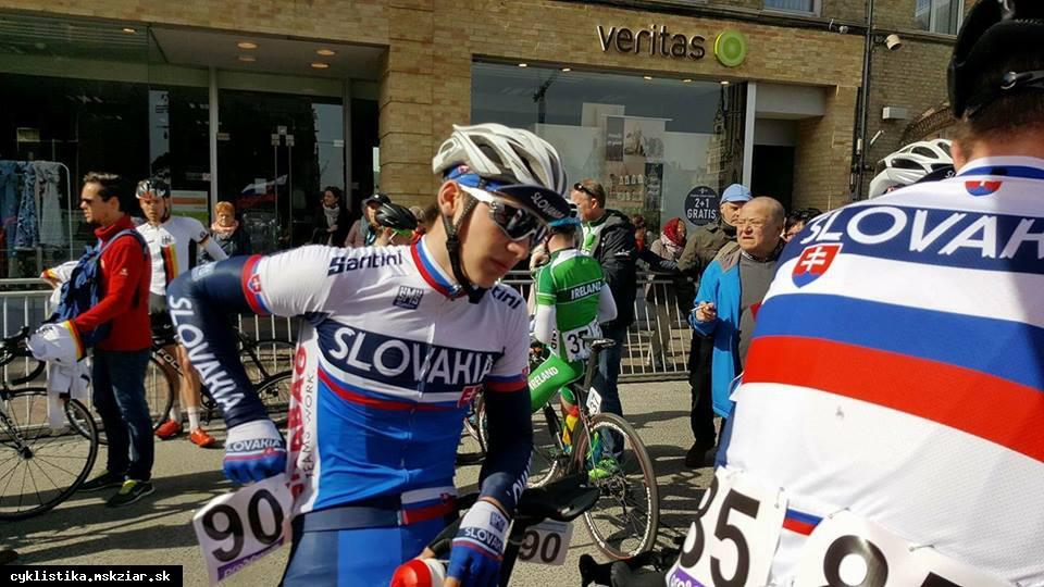 Foltán štartuje na MS v cestnej cyklistike