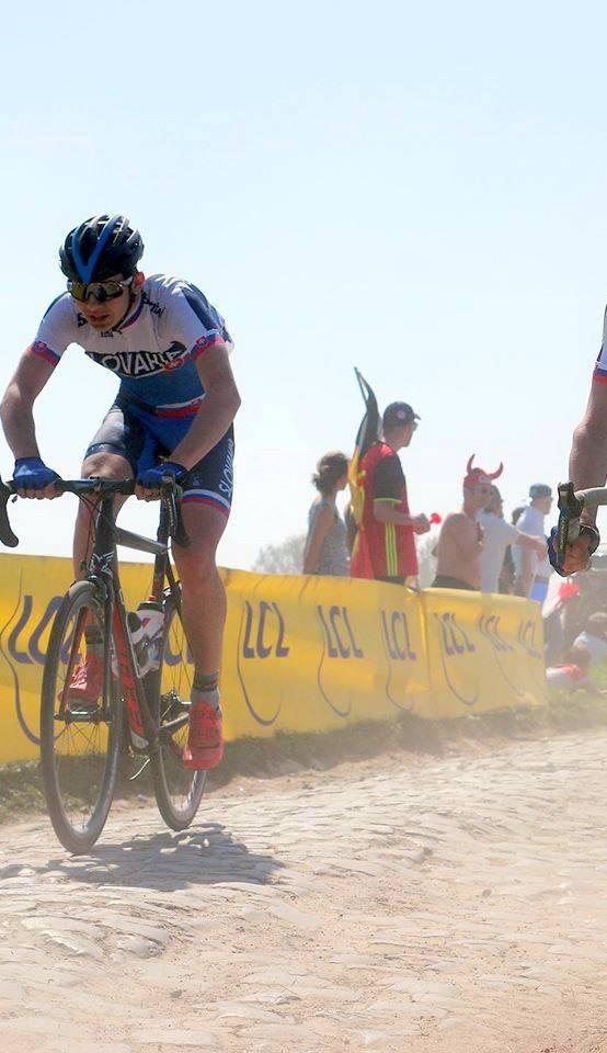 obr: Adam FOLTÁN prestupuje do profesionálnej cyklistiky