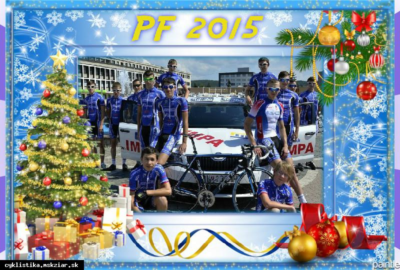obr: Prajeme Vám veselé Vianoce a šťastný Nový rok 2015