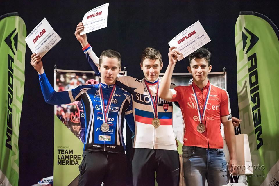 obr: Úspešné majstrovstvá Slovenska v cyklokrose
