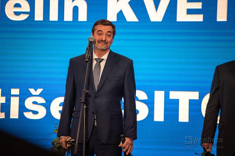 obr: František SITORA  ocenený na galavečeri Zlatý pedál