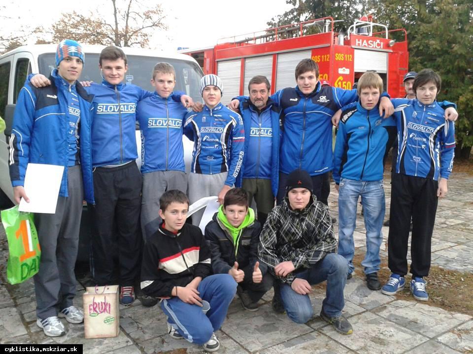 obr: Cyklokros na východe Slovenska.
