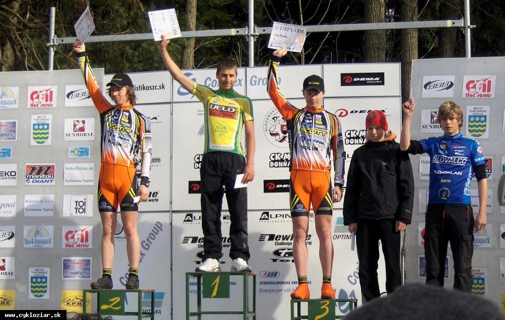 obr: Cyklisti MŠK odštartovali sezónu 2008