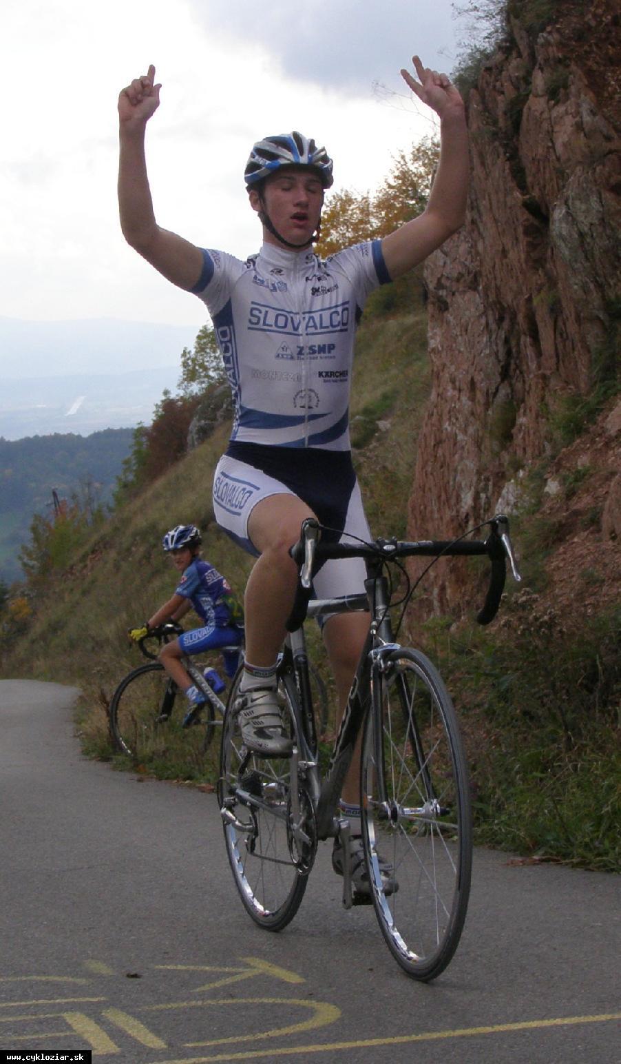 obr: Cyklisti Procner a Bališ Majstrami republiky