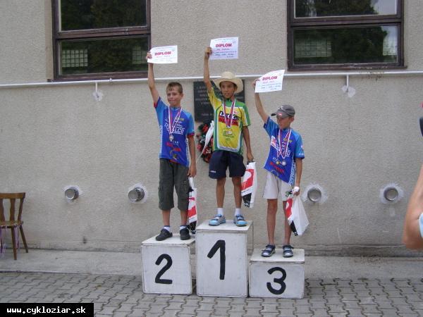 obr: Cyklista Dávid Zverko Majstrom republiky