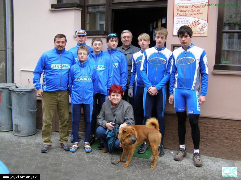 obr: Cyklisti na Českom pohári