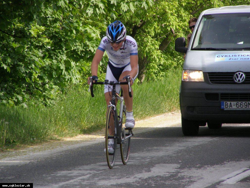 obr: Procner na Dňoch cyklistiky na Spiši víťazne