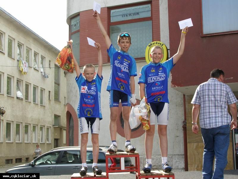 obr: Slovenský pohár na Myjave v réžii Žiarskych cyklistov