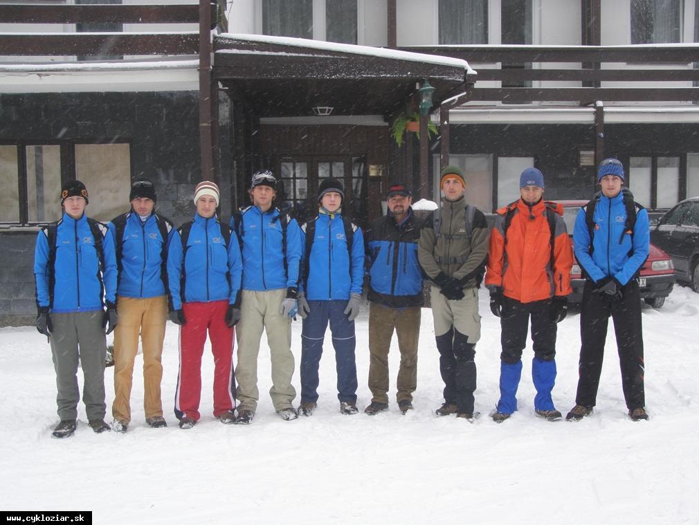 obr: Sústredenie v horskom stredisku Skalka