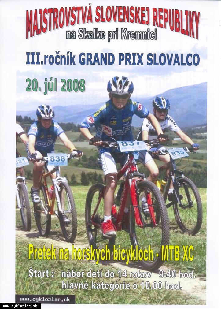 obr: Majstrovstvá SR v horských bicykloch MTB XC