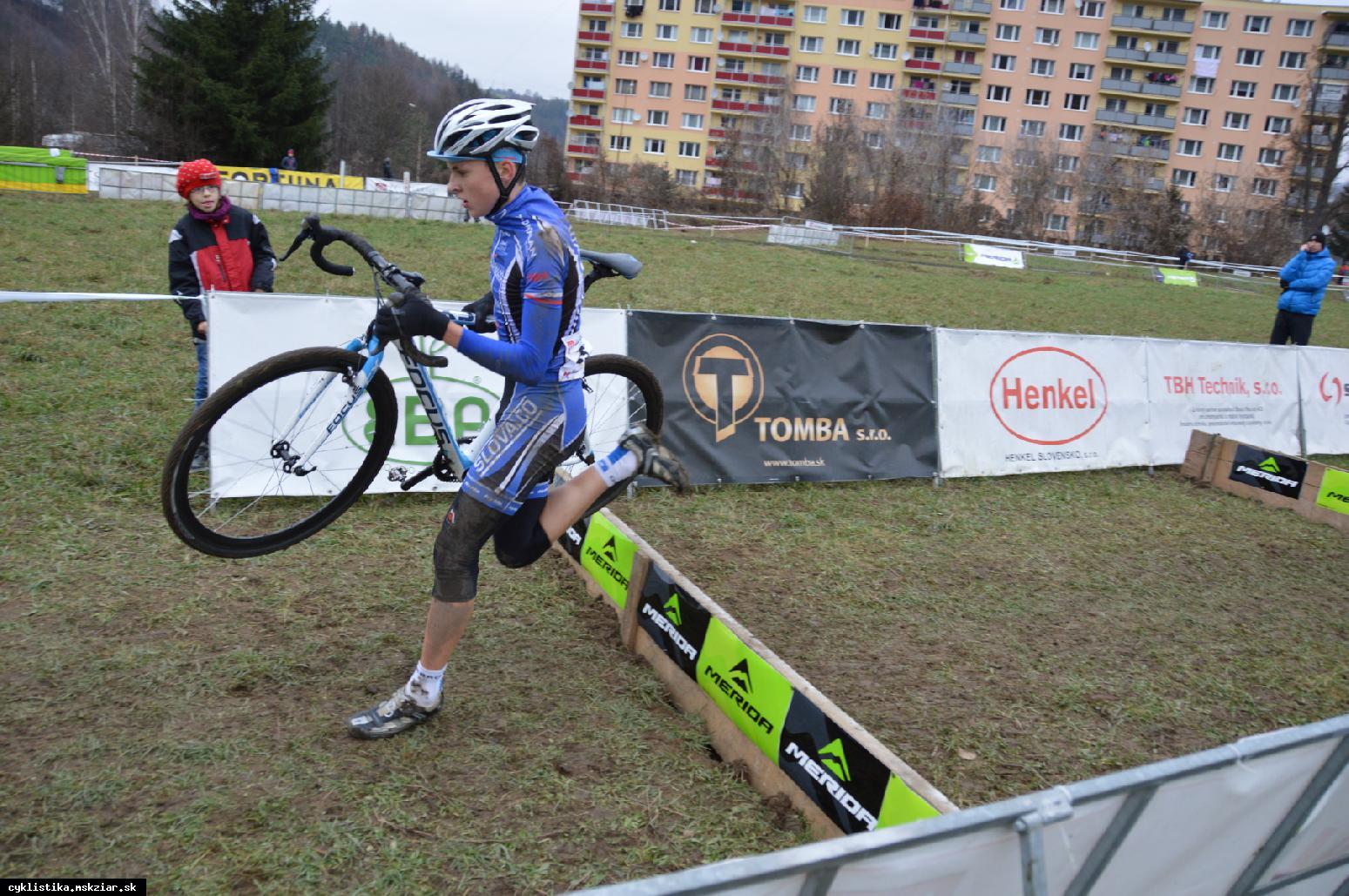 obr: Slovenský pohár v cyklokrose - Podbrezová