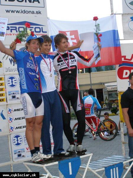 obr: Žiarski cyklisti na domácom šampionáte úspěšní