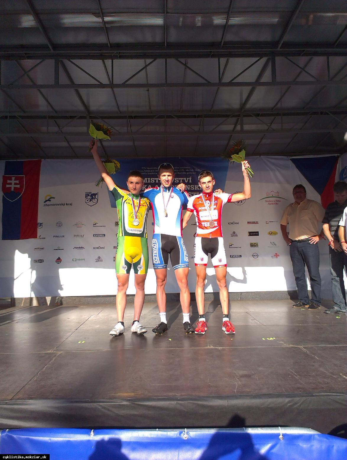 obr: David Zverko získal titul na M-SR v Slavkove.