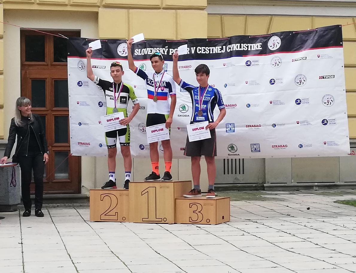 Ďurík a Baniar získali bronz na majstrovstvách Slovenska