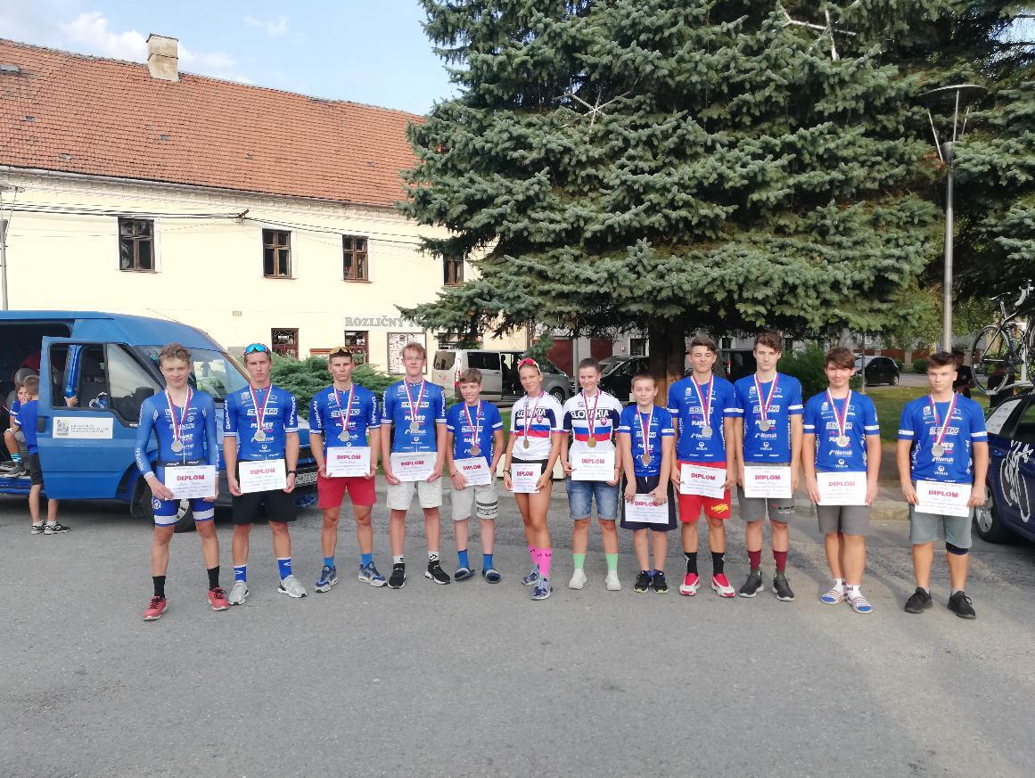 Majstrovstvá Slovenska v časovke úspešné pre náš klub