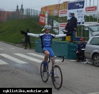 obr: Jelža, víťaz 9.kola slovenského pohára v cyklokrose