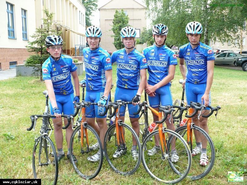 obr: Slovenský pohár v réžii žiarskych cyklistov