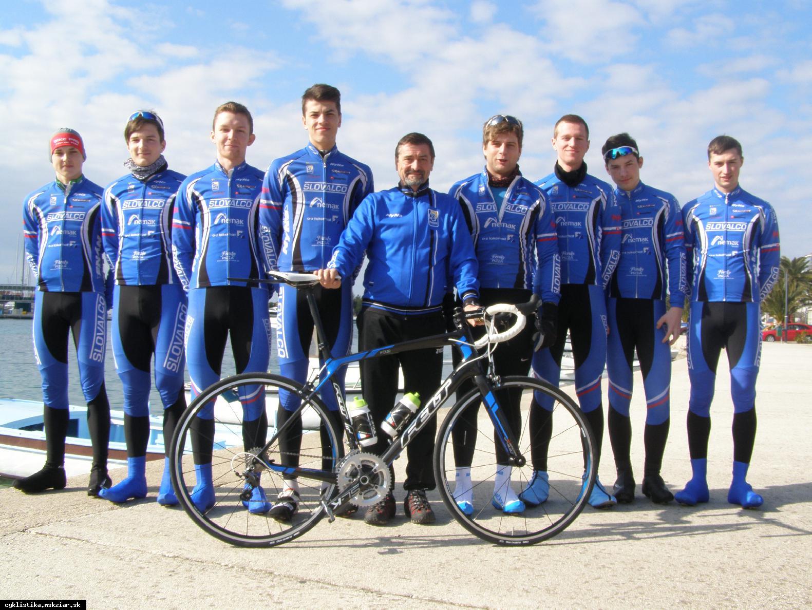 obr: Cyklisti dnes ukončili sústredenie v Chorvátsku...