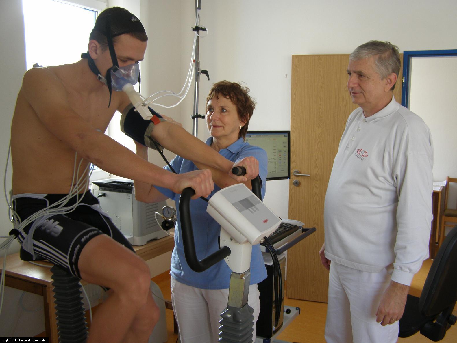 obr: Spiroergometrické vyšetrenie...