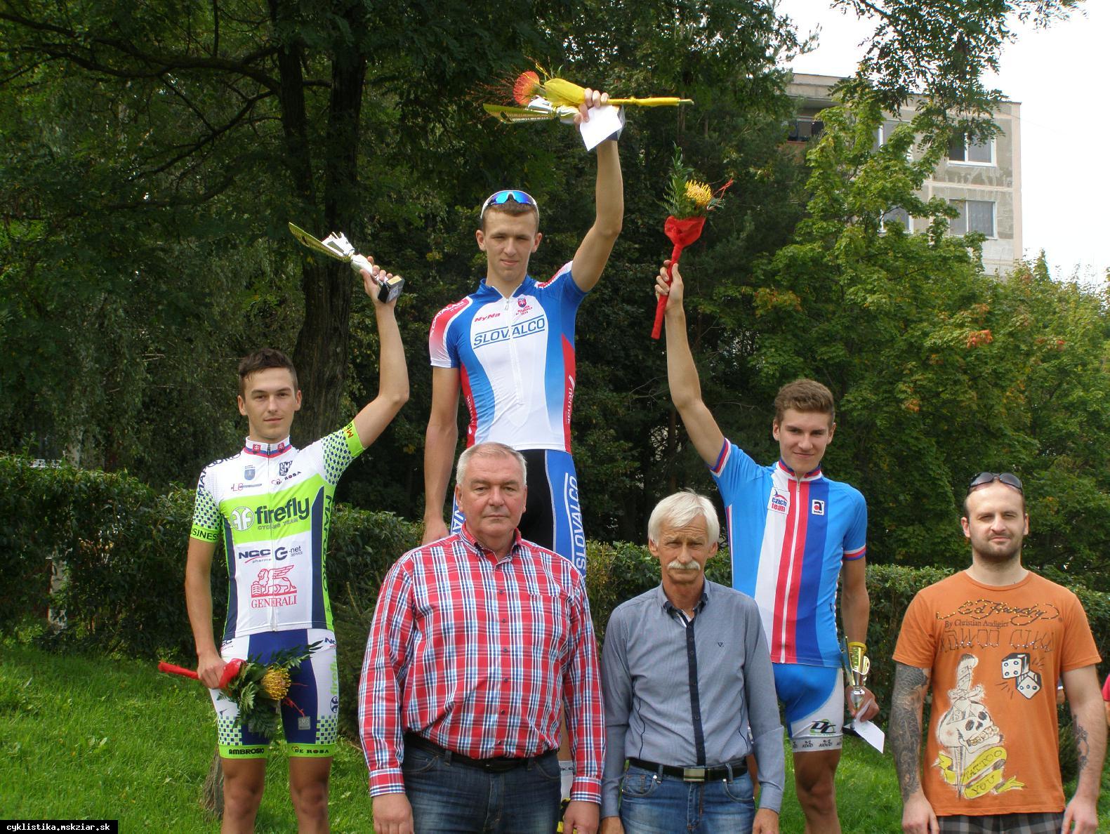 obr: Žiarsky cyklista na štarte Majstrovstiev sveta