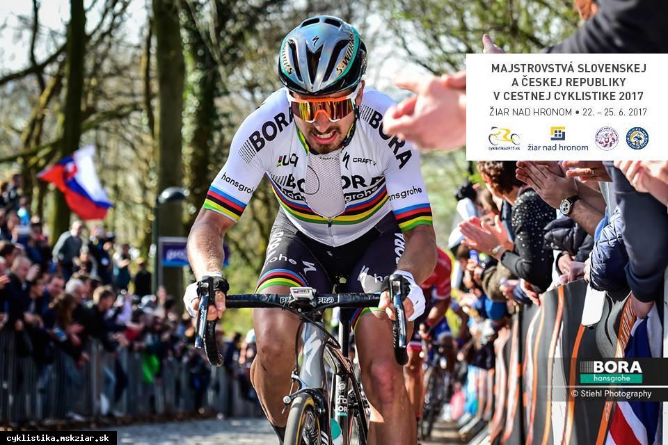 obr: Majstrovstvá Slovenskej a Českej republiky v cestnej cyklistike 2017