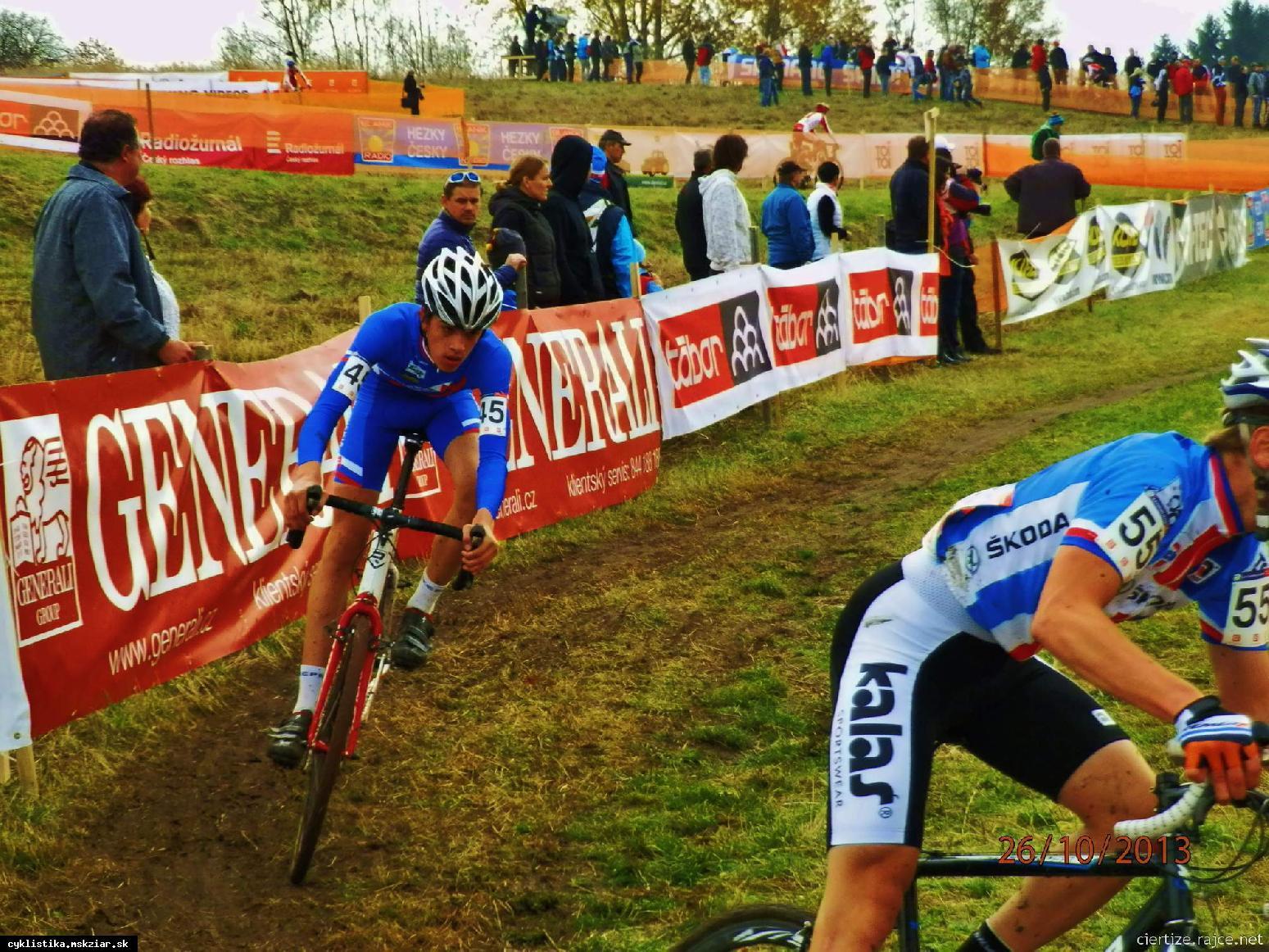 obr: Bellan výborne na Svetovom pohári v cyklokrose.