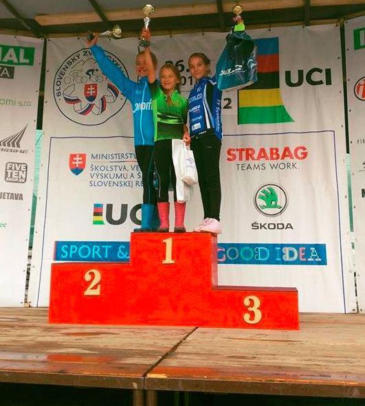 Ďuríková a Zelinová na stupni víťazov