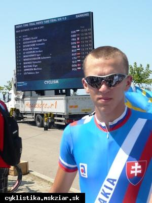obr: Bronzový medailista z EYOF Dávid Zverko sa cyklistike venuje len tri roky